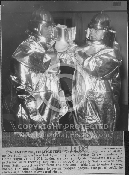 : Firefighter suits