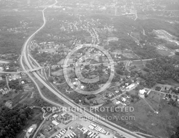 : Birdseye View Madison Heights, Sept 5, 1965, By Gordan Thomas