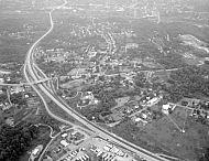 : Birdseye View Madison Heights, Sept 5, 1965, By Gordan Thomas