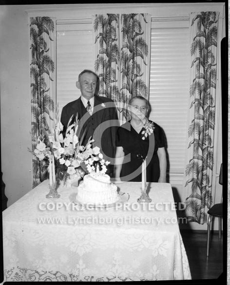 : 50 Golden, Ewers Wedding, July 1951