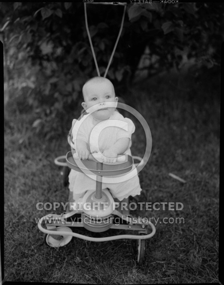 : ARGARET IRUIN MCCANN, BABY OUTDOORS, JUNE