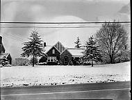 : John Abbott House in Snow