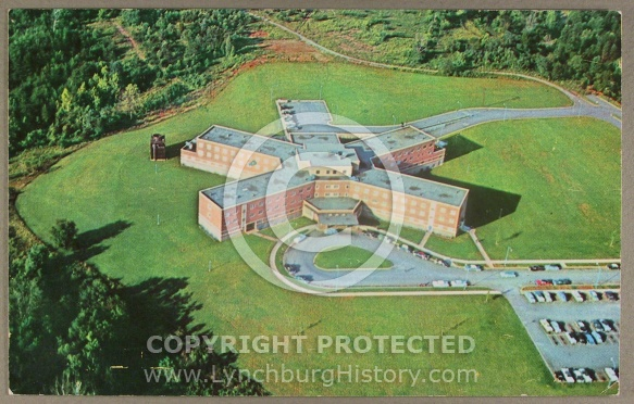 : Hospital Lynchburg Gen aerial jg