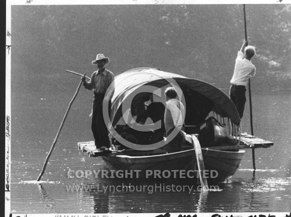 Batteau on the James River - 1984