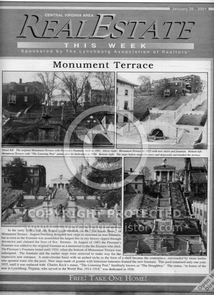 Monument Terrace - Development