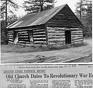 Old Stone Road Church - Leesville