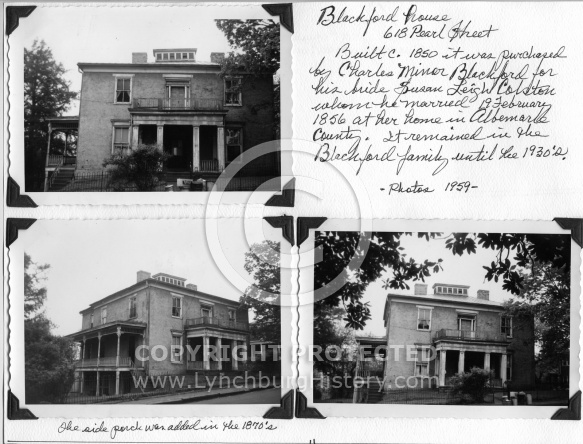 Blackford House 618 Pearl Street