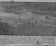 : reusens playground Lavina 1954