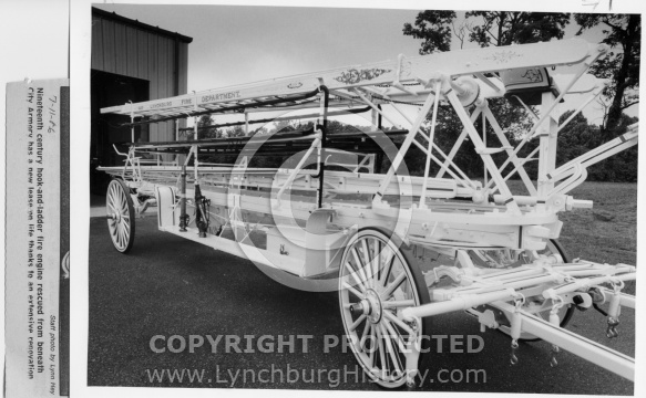 Lynchburg Fire Station -Hook&Ladder Truck