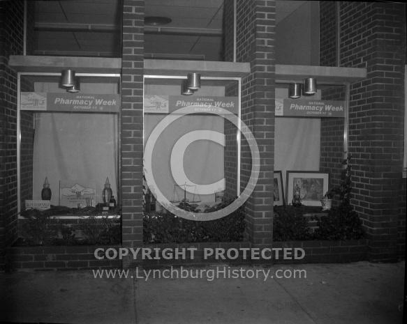 : ROBERTSON DRUG WINDOW DISPLAY