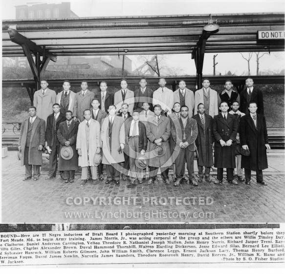 WWII Negro Draftees - January 5, 1943