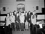 : Youth Week Group, Baptist Church, March 22, 1964
