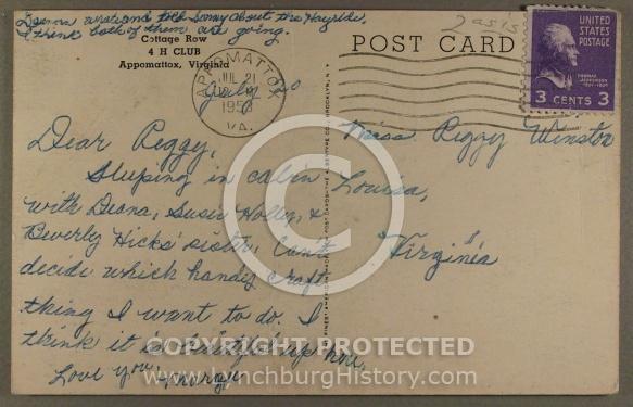 : Appomattox Holiday Lk cottage bk jg