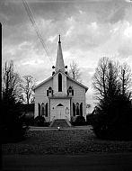 : Calvery Baptist and other church, same st, Concord, VA Nov, 1966