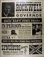 : Poster White rebel jg