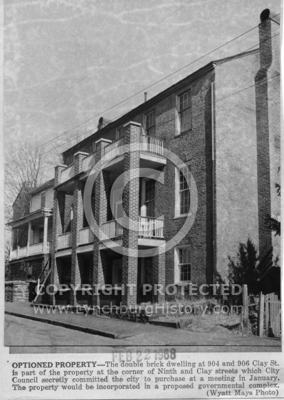 Lynchburg Governmental Complex - Clay Street