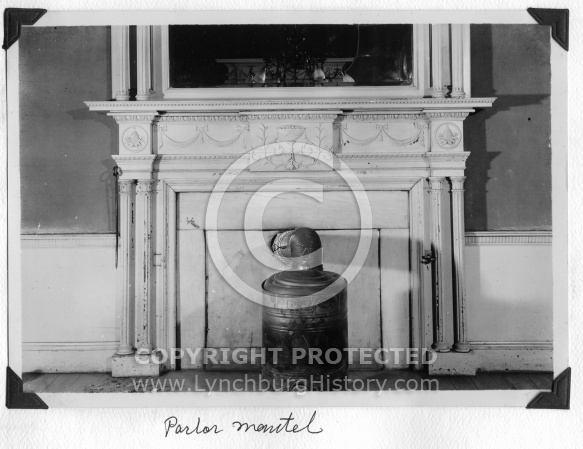 Point of Honor - Parlor Mantel