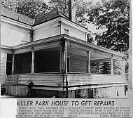 Miller Park - House Repairs 1957