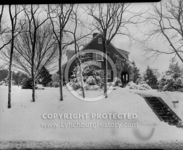 : JOE MILLER HOUSE IN SNOW MARCH 8