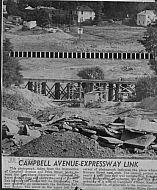 : Campbell ave toward Kemper