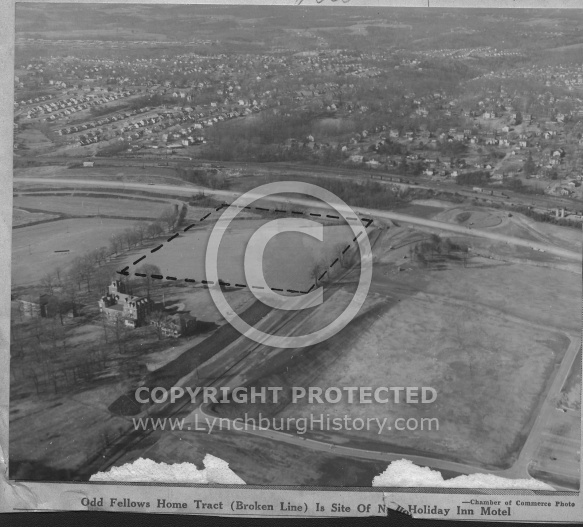 : Odd fellows aerial 1961