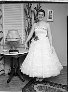 : Ford Evening Gown at Home, April 15, 1955