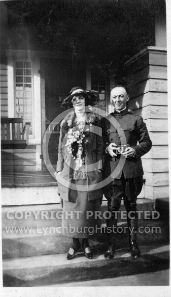 Ray and Woman With Flowers
