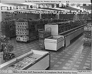 A&P Supermarket Interior - 1962