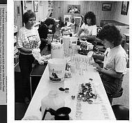 C & S Cafe - Flood Cleanup 1989