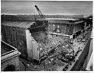 Warner Theater Demolition - October 1982