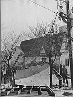 : Storm damage lynchburg block