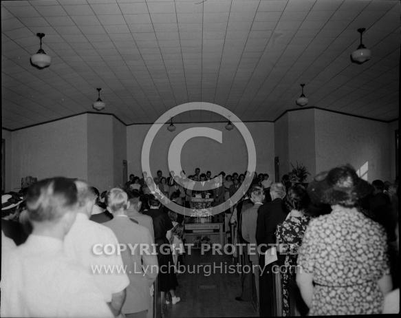 : SANDY BOTTOM CHRISTIAN CHURCH, NEW CHURCH DEDICATION, AUGUST 22