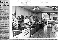Bedford Ave - Browns Grocery interior
