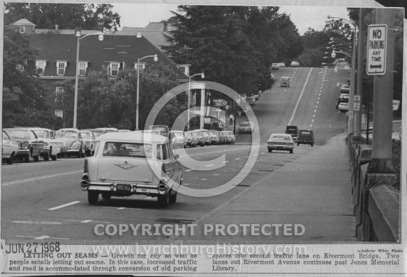 Rivermont Bridge - 1968