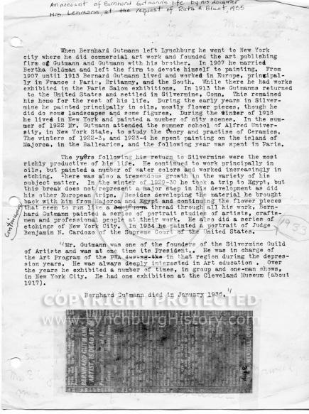 Gutmann history pt1