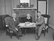 : Miss Bertha, Bob Rucketts,  W Freeman, Febuary 27, 1985
