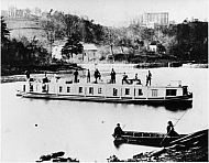 Kanawha Canal - Packet Boat Lexington