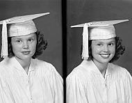 : Lillian Shaw, Cap & Gown, June 12, 1951