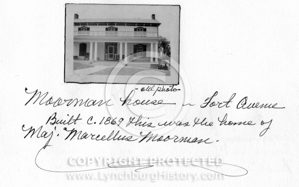 Moorman House - Fort Avenue