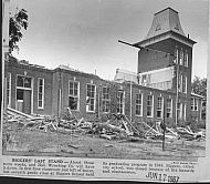 Biggers School Demolition - 1967