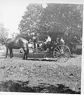 Hilly Farm, carriage