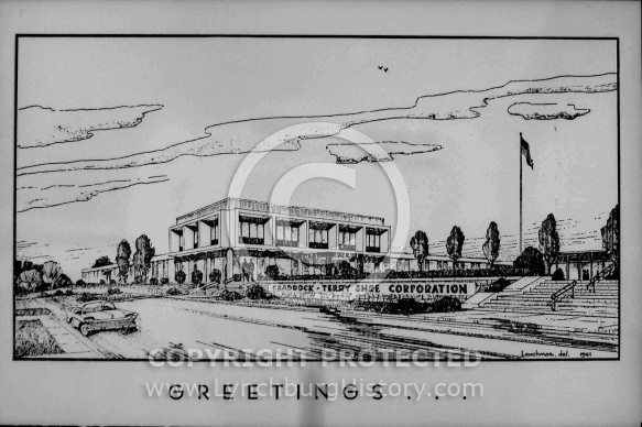 : CRADDOCK TERRY DRAWING BEFORE BUILDING FINISHED, MARCH 3