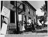 Lynchburg Preservation Trust Protest