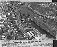 Carter Glass Bridge and Williams Viaduct - 1970