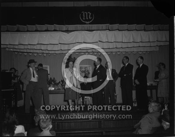 : TOM BRENIMUN SHOW, LADIES AID, SANDY BOTTOM CHURCH