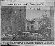 : Virginian Hotel addition site50