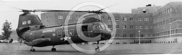 Hurricane Camille - Rescue Helicopter