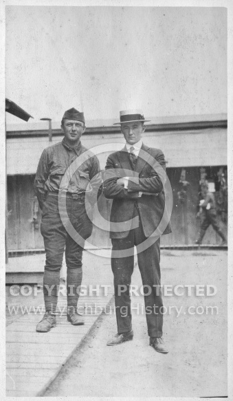 Soldier with Victor Wood