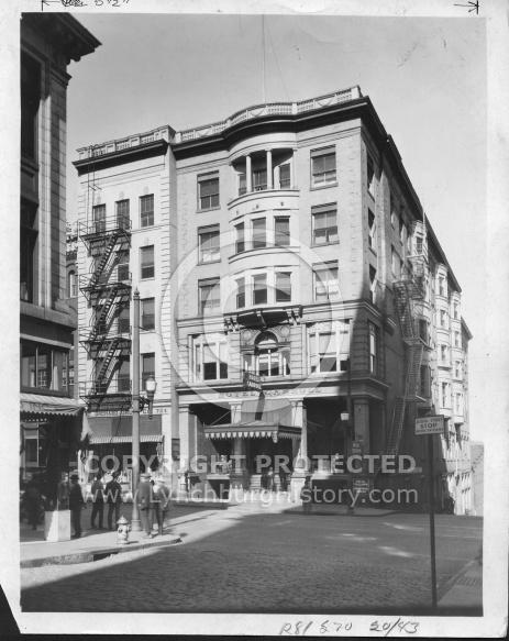 Hotel Carroll  - 1900s