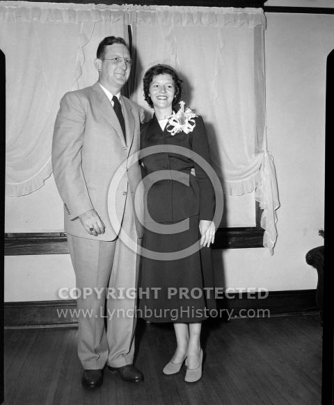 : Aubrey Deaton Wedding, Sept 21 1951